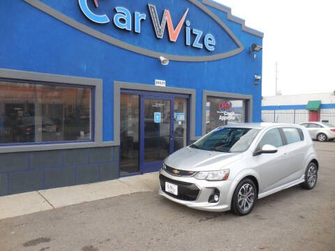 2017 Chevrolet Sonic for sale at Carwize in Detroit MI