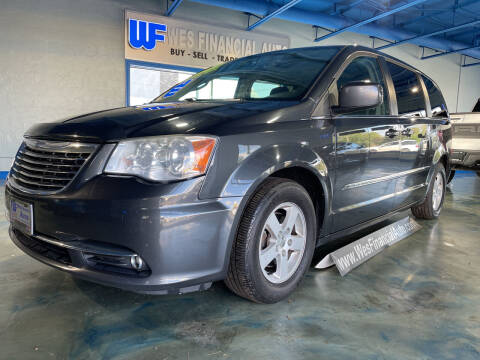 2012 Chrysler Town and Country for sale at Wes Financial Auto in Dearborn Heights MI