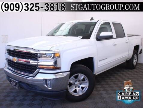 2016 Chevrolet Silverado 1500 for sale at STG Auto Group in Montclair CA