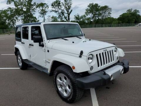2015 Jeep Wrangler Unlimited for sale at CON ALVARO ¡TODOS CALIFICAN!™ in Columbia TN