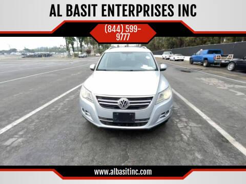 2010 Volkswagen Tiguan for sale at AL BASIT ENTERPRISES INC in Riverside CA
