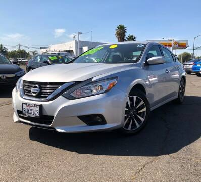2017 Nissan Altima for sale at LUGO AUTO GROUP in Sacramento CA