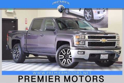 2014 Chevrolet Silverado 1500 for sale at Premier Motors in Hayward CA