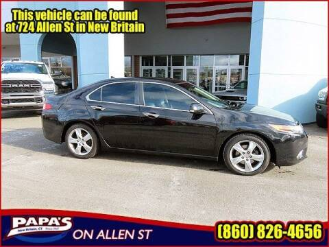 2012 Acura TSX for sale at Papas Chrysler Dodge Jeep Ram in New Britain CT