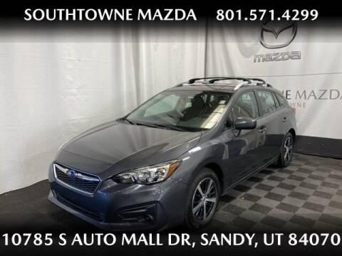 2019 Subaru Impreza for sale at Southtowne Mazda of Sandy in Sandy UT