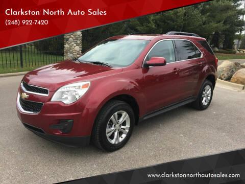 2011 Chevrolet Equinox for sale at Clarkston North Auto Sales in Clarkston MI