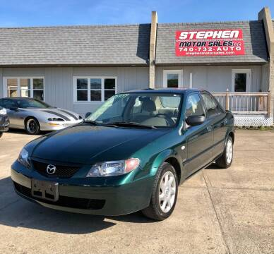 2002 Mazda Protege for sale at Stephen Motor Sales LLC in Caldwell OH