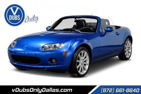 2006 Mazda MX-5 Miata for sale at VDUBS ONLY in Dallas TX