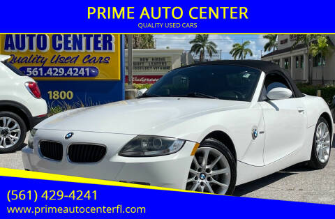 2008 BMW Z4 for sale at PRIME AUTO CENTER in Palm Springs FL