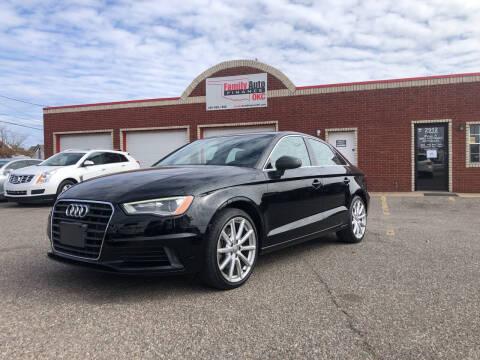 2015 Audi A3 for sale at Family Auto Finance OKC LLC in Oklahoma City OK