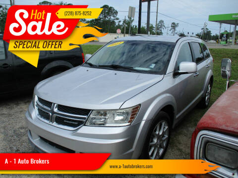 2011 Dodge Journey for sale at A - 1 Auto Brokers in Ocean Springs MS