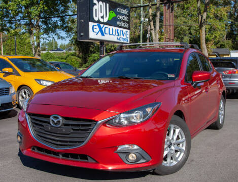 2015 Mazda MAZDA3 for sale at EXCLUSIVE MOTORS in Virginia Beach VA