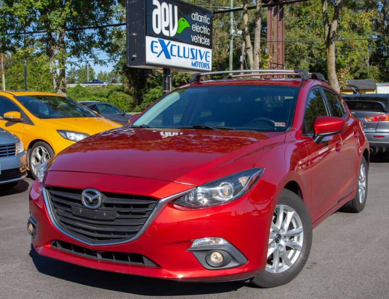 2015 Mazda MAZDA3 for sale at EXCLUSIVE MOTORS in Virginia Beach VA