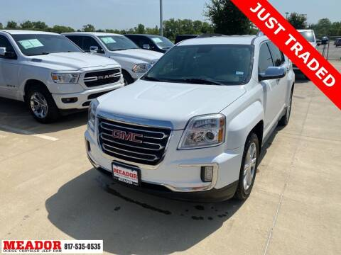 2017 GMC Terrain for sale at Meador Dodge Chrysler Jeep RAM in Fort Worth TX