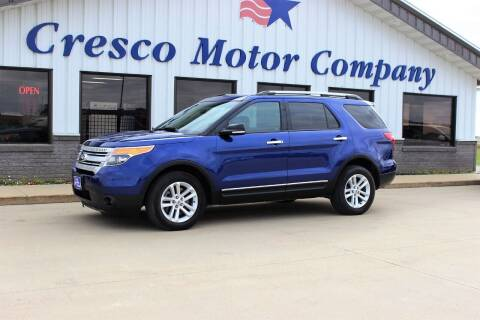 2015 Ford Explorer for sale at Cresco Motor Company in Cresco IA