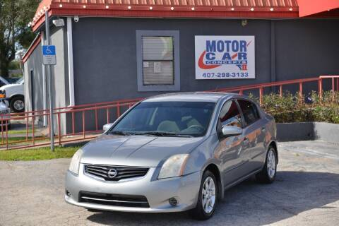 2012 Nissan Sentra for sale at Motor Car Concepts II - Kirkman Location in Orlando FL