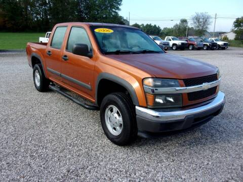 2006 Chevrolet Colorado for sale at BABCOCK MOTORS INC in Orleans IN