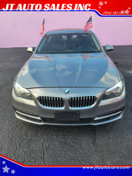 2014 BMW 5 Series for sale at JT AUTO SALES INC in Oakland Park FL