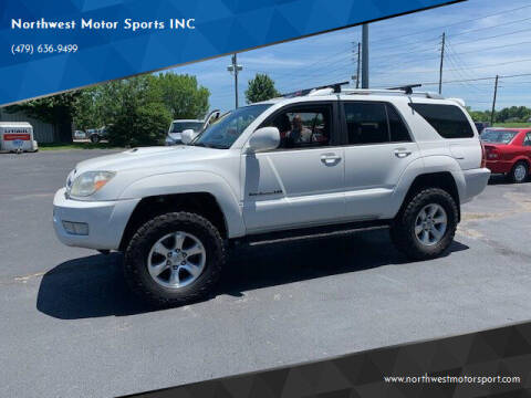 2005 Toyota 4Runner for sale at Northwest Motor Sports INC in Rogers AR