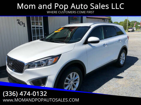 2016 Kia Sorento for sale at Mom and Pop Auto Sales LLC in Thomasville NC