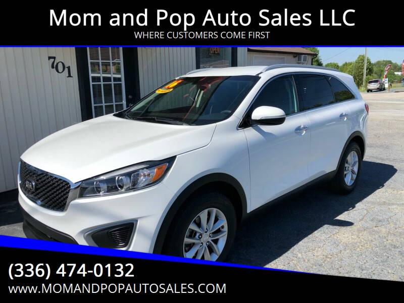 2016 Kia Sorento for sale at Mom and Pop Auto Sales LLC in Thomasville NC
