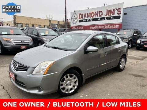 2010 Nissan Sentra for sale at Diamond Jim's West Allis in West Allis WI