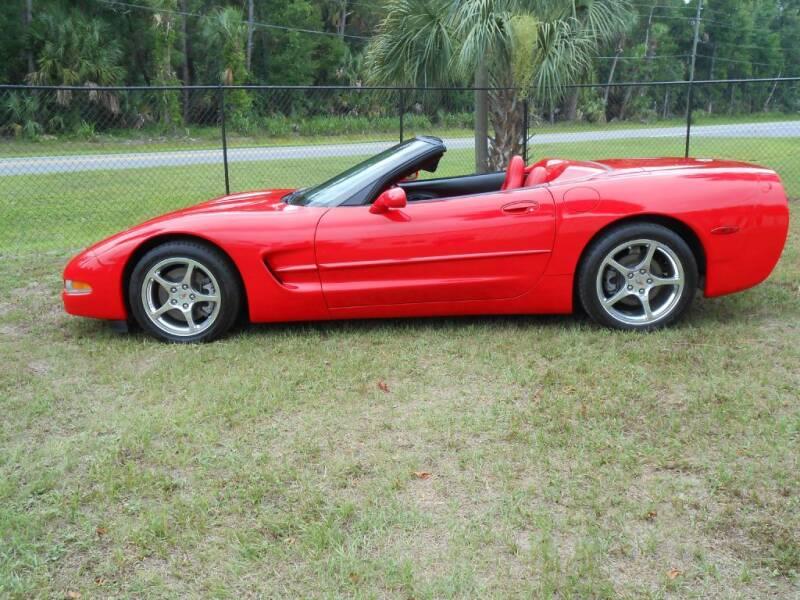2003 Chevrolet Corvette for sale at Westfall Auto Sales in Cadiz OH