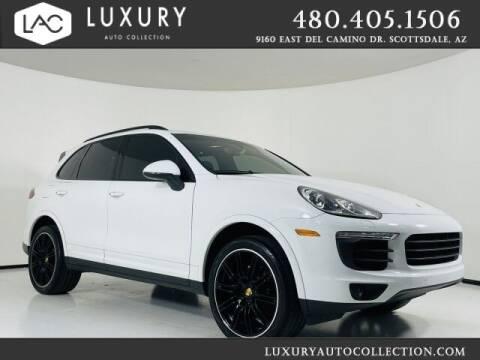 2017 Porsche Cayenne for sale at Luxury Auto Collection in Scottsdale AZ