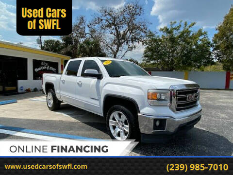 2014 GMC Sierra 1500 for sale at Used Cars of SWFL in Fort Myers FL