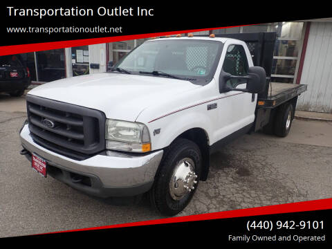 2004 Ford F-350 Super Duty for sale at Transportation Outlet Inc in Eastlake OH