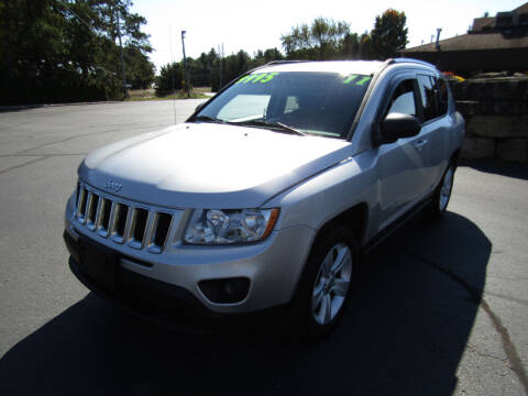 2011 Jeep Compass for sale at Mike Federwitz Autosports, Inc. in Wisconsin Rapids WI