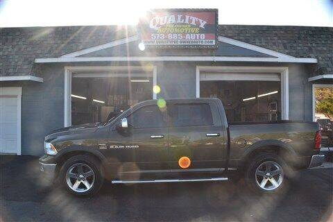 2012 RAM Ram Pickup 1500 for sale at Quality Pre-Owned Automotive in Cuba MO
