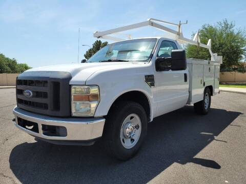 2008 Ford F-250 Super Duty for sale at AZ Work Trucks And Vans in Mesa AZ