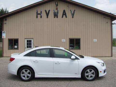 2015 Chevrolet Cruze for sale at HyWay Auto Sales in Holland MI