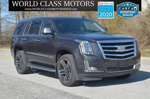 2017 Cadillac Escalade for sale at World Class Motors LLC in Noblesville IN