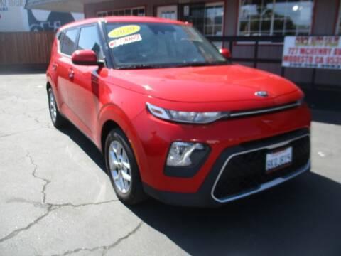 2020 Kia Soul for sale at Quick Auto Sales in Modesto CA