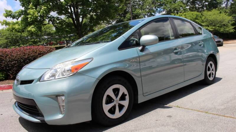 2014 Toyota Prius for sale at NORCROSS MOTORSPORTS in Norcross GA