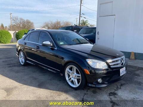 2009 Mercedes-Benz C-Class for sale at About New Auto Sales in Lincoln CA