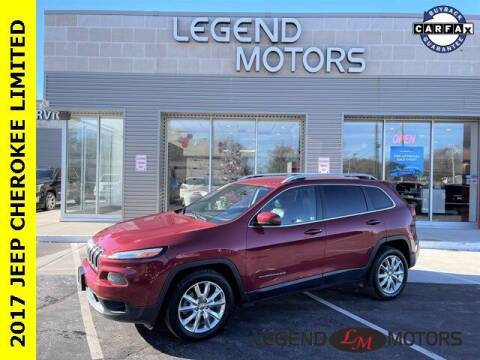 2017 Jeep Cherokee for sale at Legend Motors of Waterford in Waterford MI