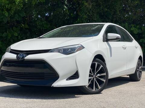 2017 Toyota Corolla for sale at HIGH PERFORMANCE MOTORS in Hollywood FL