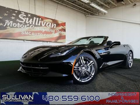 2016 Chevrolet Corvette for sale at SULLIVAN MOTOR COMPANY INC. in Mesa AZ