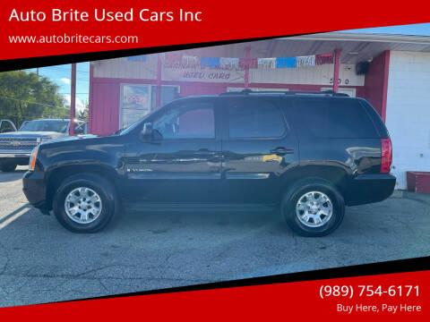 2007 GMC Yukon for sale at Auto Brite Used Cars Inc in Saginaw MI