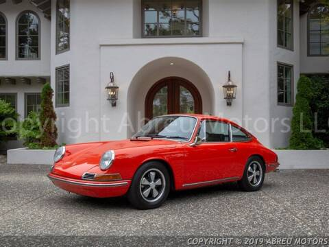 1968 Porsche 911 for sale at Abreu Motors in Carmel IN
