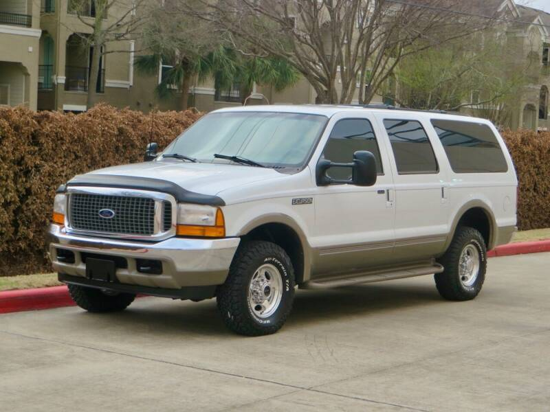 2000 Ford Excursion for sale at RBP Automotive Inc. in Houston TX