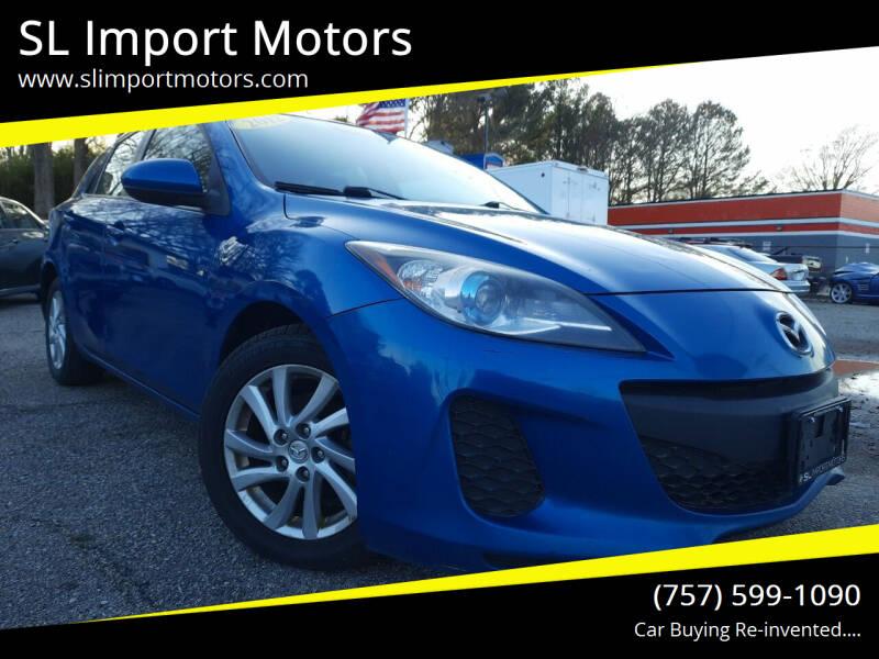 2012 Mazda MAZDA3 for sale at SL Import Motors in Newport News VA