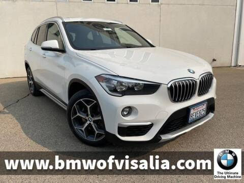 2018 BMW X1 for sale at BMW OF VISALIA in Visalia CA