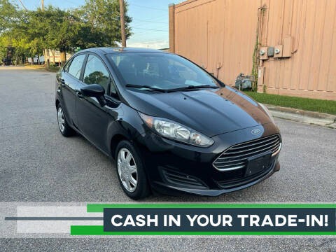 2016 Ford Fiesta for sale at Horizon Auto Sales in Raleigh NC