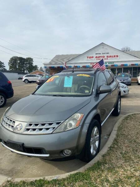 2007 Nissan Murano for sale at Top Auto Sales in Petersburg VA
