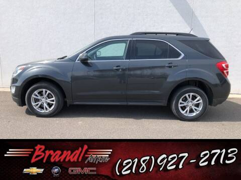 2017 Chevrolet Equinox for sale at Brandl GM in Aitkin MN
