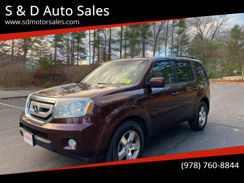 2010 Honda Pilot for sale at S & D Auto Sales in Maynard MA